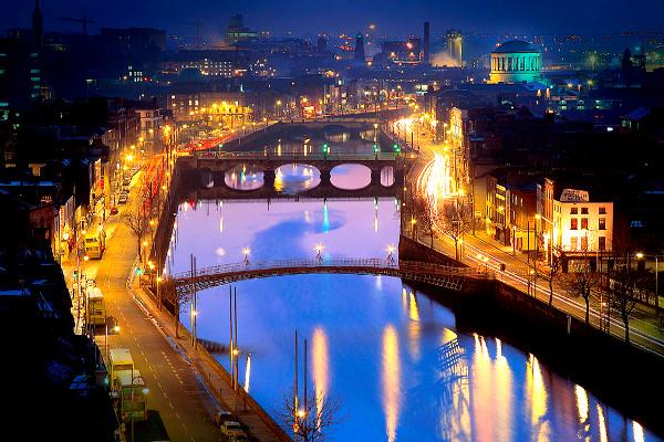 Ville - Autotour Le Meilleur de l'Irlande Dublin Irlande