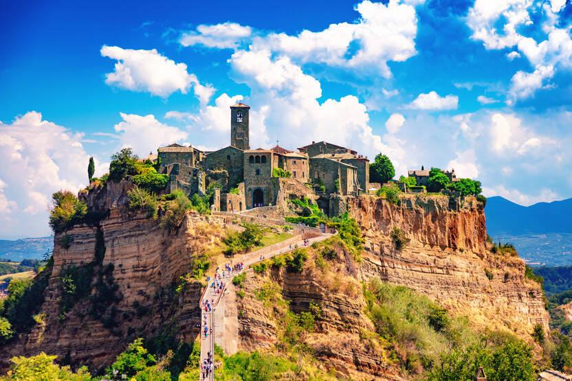 Ville - Autotour Balade sur les routes du Chianti 3* Florence Italie