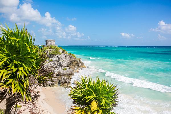 Plage - Autotour Yucatan & Riviera Maya Cancun Mexique