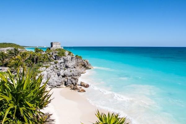 Plage - Yucatan Cancun Mexique