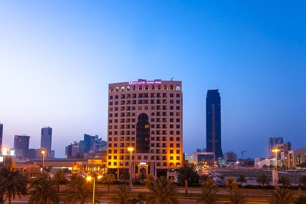 Facade - Mercure Grand Hotel Seef 4* Bahrein Bahrein