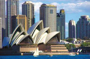 Australie-Melbourne, Circuit Victoria State & Lumières d'Australie & Darwin