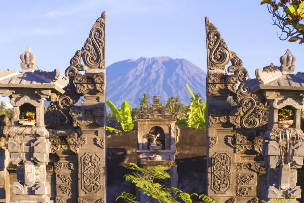 Mont Agung - privatif Trio Balinais en 9 nuits