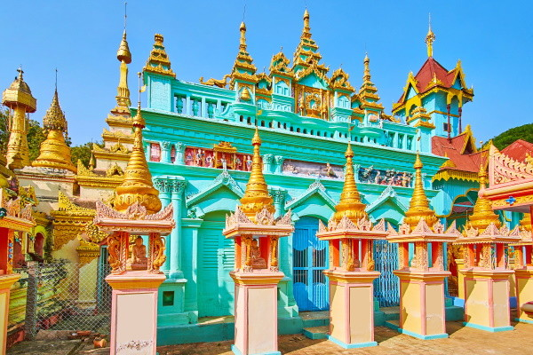 Monument - Circuit Lumières de Birmanie & Ngapali 3* Mandalay Birmanie