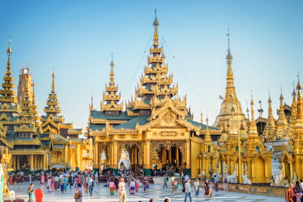 Pagode Shwedagon - Rangoon