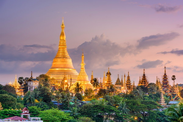 Ville - Circuit Les Inoubliables de la Birmanie Rangoon Birmanie