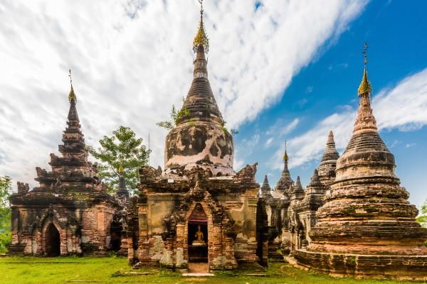 Monument - Circuit Echappée Birmane Yangon Birmanie