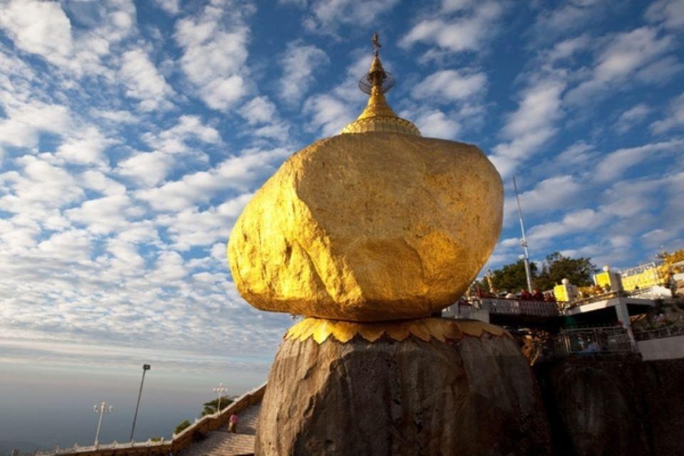 Circuit Birmanie Légendaire + pré-extension Rocher d'Or Asie Birmanie