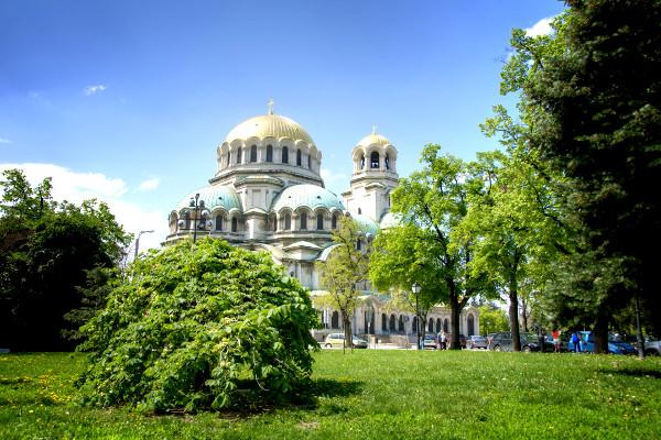 La Cathédrale Alexander Nevski à Sofia