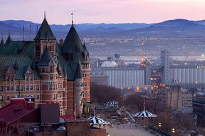 Vacances Montreal: Circuit Les Inoubliables Du Canada Hiver