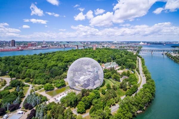 Ville - Circuit Magie Hivernale au Québec Montreal Canada