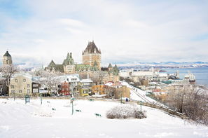 Canada-Montreal, Circuit Magie Hivernale au Québec