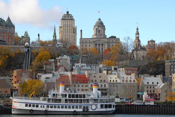 Ville - Croisière Au Fil du Saint Laurent Montreal Canada