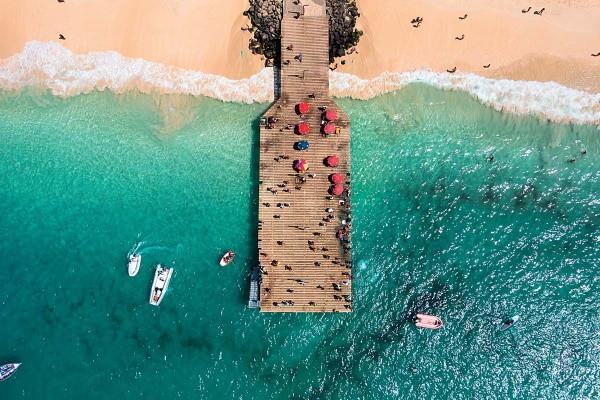 Nature - Circuit Echappée Capverdienne - Club Héliades Oasis Belorizonte 4* Ile de Sal Cap Vert