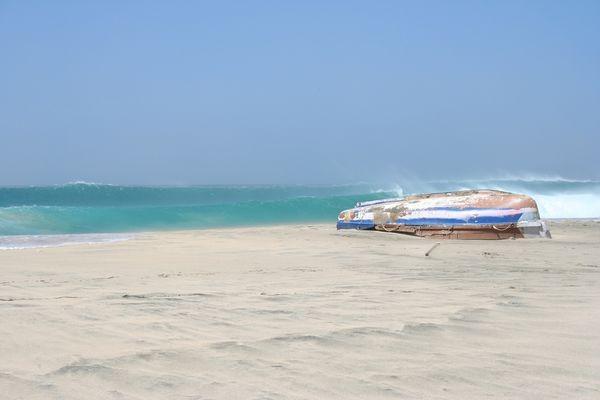 Plage - Images du Cap Vert