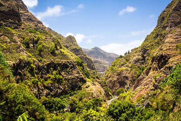 Montagne - Circuit Regard sur le Cap Vert Sao Vicente Cap Vert