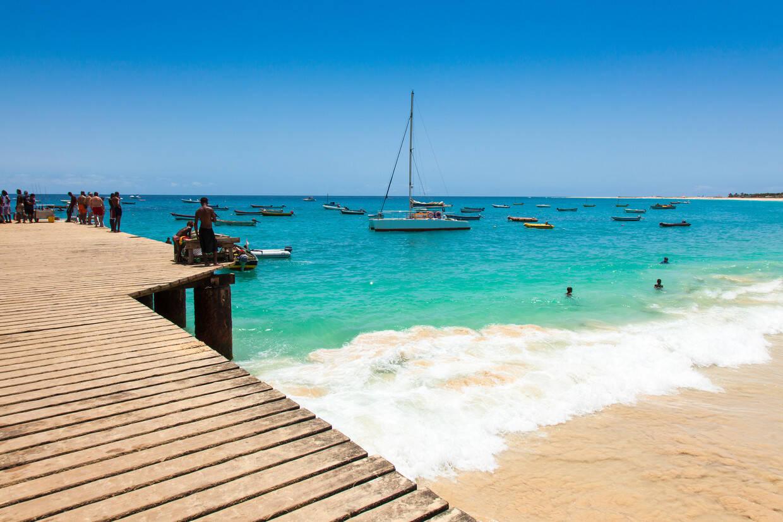 Plage - Circuit Regard sur le Cap Vert Sao Vicente Cap Vert