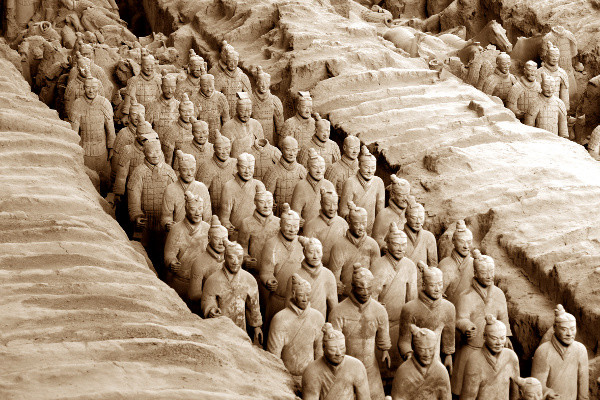 Monument - Circuit Merveilleuse Chine Chengdu Chine