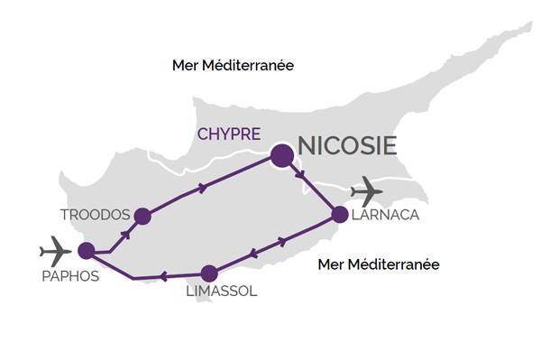 (fictif) - Circuit Grand tour de Chypre.