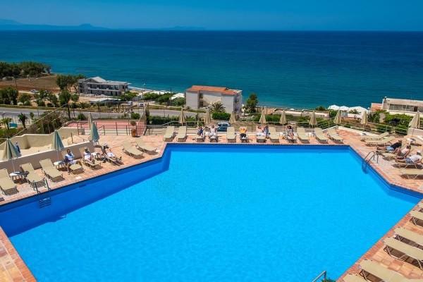 Piscine - Circuit Echappée Crétoise depuis le Club Héliades Scaleta Beach - Adult Only 3* Heraklion Crète