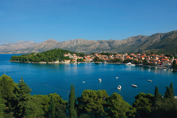 vue hôtel panoramique - Croatie Saveur Nature Dalmate