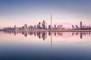 Dubai et les Emirats-Dubai, Circuit Dubaï ville de mirage