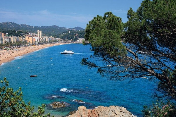 Vue panoramique - Circuit La Costa Brava 3* Lloret De Mar Espagne