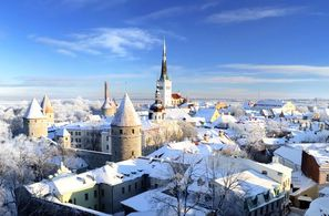 Estonie-Tallinn, Hôtel Saint Sylvestre à Tallinn