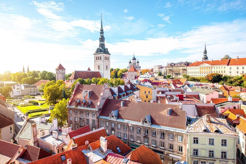 Ville - Circuit Week-end à Tallinn 3* Tallinn Estonie