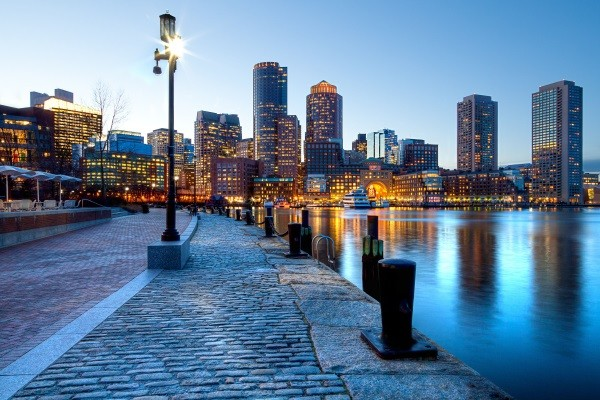 Ville - Circuit Est Grandiose Boston Etats-Unis