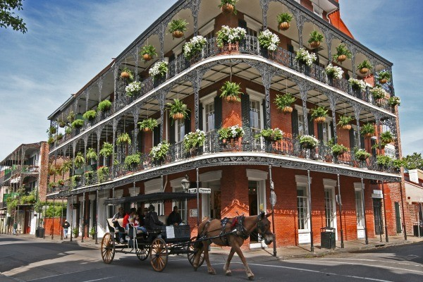 quartier français - Indispensable Louisiane