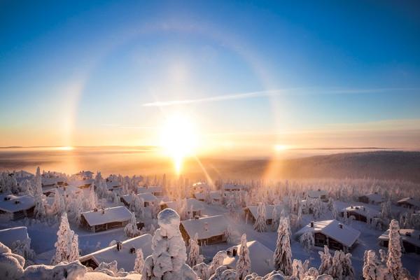 Nature - Circuit Charme hivernal de Laponie Ivalo Finlande