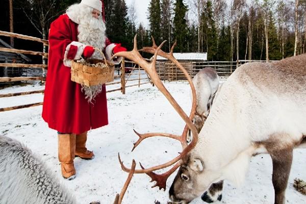 (fictif) - Circuit A la rencontre du Père Noël en Laponie 3* Kittila Finlande