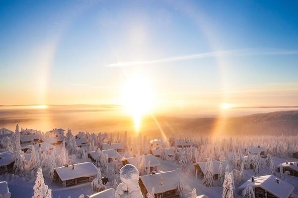 Nature - Circuit A la rencontre du Père Noël en Laponie 3* Kittila Finlande