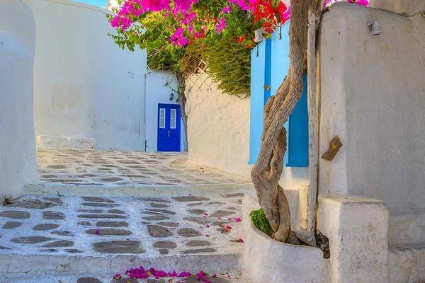 (fictif) - Circuit Périples dans les Cyclades depuis Athènes - Mykonos, Paros et Santorin 4* Athenes Grece