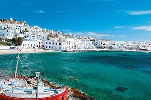 Vacances Mykonos: Circuit Périples dans les Cyclades depuis Athènes - Mykonos et Paros
