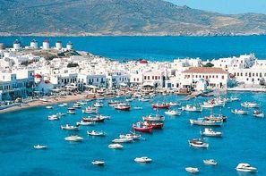 Vacances Athenes: Circuit Périples dans les Cyclades depuis Athènes - Mykonos et Santorin