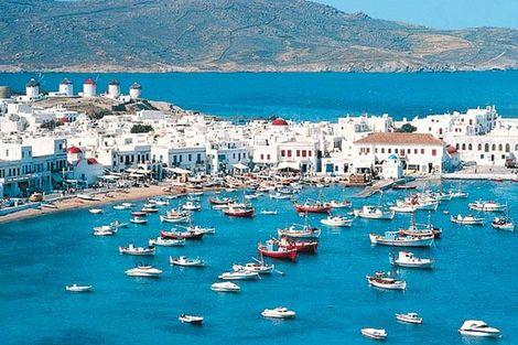 Circuit Périples dans les Cyclades depuis Athènes - Mykonos et Santorin 3*