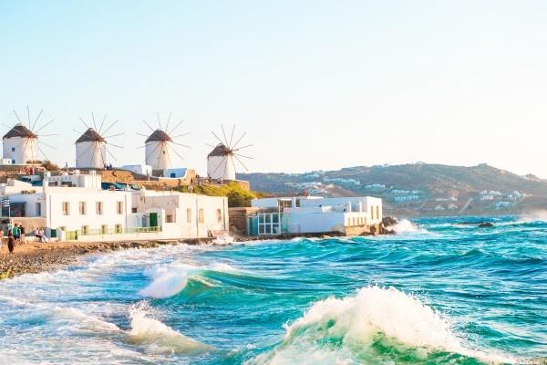 Ville - Combiné 3 îles Mykonos - Paros - Santorin en 15 jours - arrivée Athènes 3* Mykonos Grece