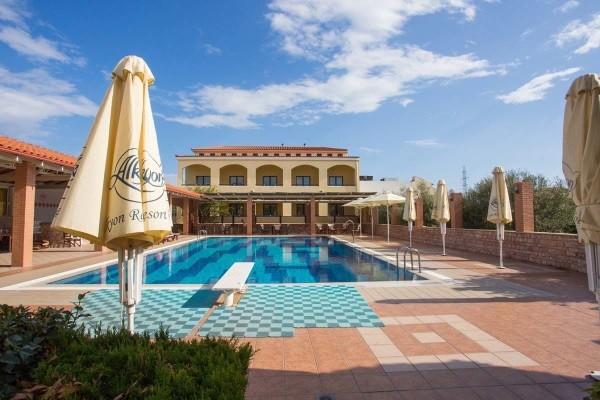Piscine - Hôtel Echappée depuis la région de Corinthe depuis l'hôtel Alkyon 4* Athenes Grece