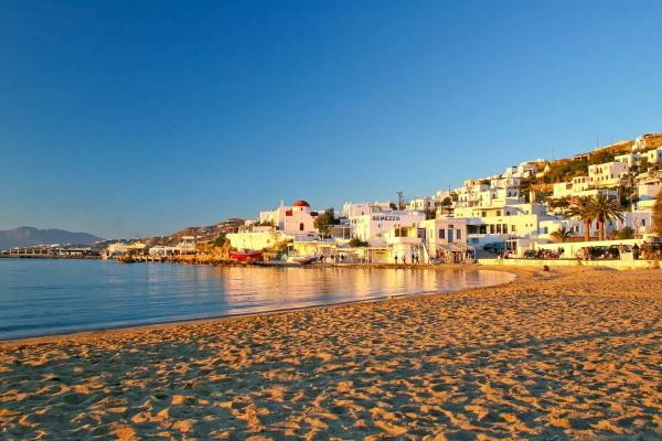 Mykonos - Combiné dans les Cyclades depuis Athènes : Naxos et Santorin