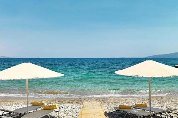 Plage - Circuit Echappée depuis la région de Corinthe depuis l'hôtel Kalamaki Beach 4* Athenes Grece