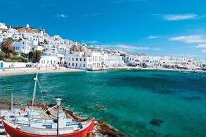 Grece-Athenes, Circuit Périples dans les Cyclades depuis Athènes - Mykonos et Paros