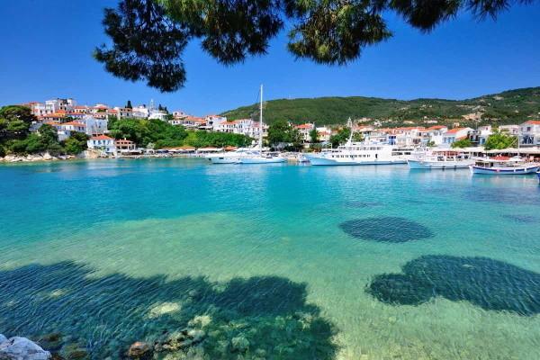 Skiathos - Périples dans les Sporades depuis Ahènes - Skopelos et Skiathos