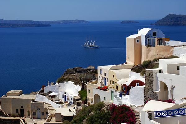 Ville - Combiné 2 Îles : Paros Santorin En 8 Jours 3* Athenes Grece