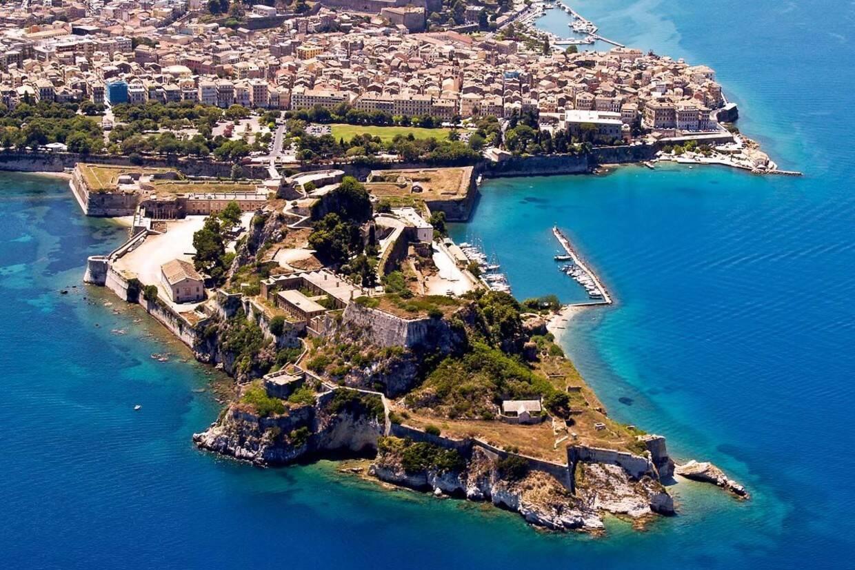 Ville - Circuit Échappée Ionienne depuis le Club Héliades Apollo Palace 5* Corfou Grece