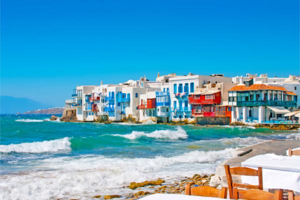 Ville - Combiné 3 îles : Mykonos - Paros - Santorin en 15 jours 2* Mykonos Grece