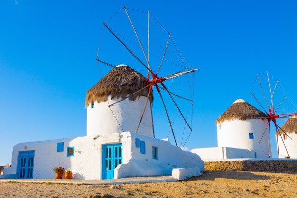 Monument - Combiné 3 îles : Mykonos - Paros - Santorin en 15 jours 2* Mykonos Grece