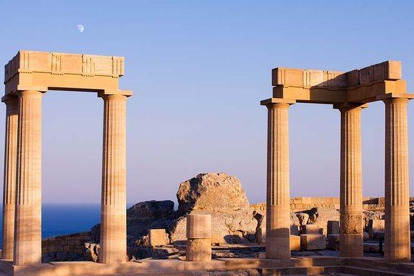 (fictif) - Circuit Périple depuis Rhodes 2 îles en 1 semaine : Rhodes et Patmos 4* Rhodes Grece
