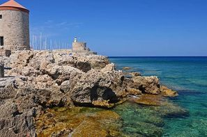 Vacances Rhodes: Circuit Périple depuis Rhodes 2 îles en 1 semaine - Rhodes et Symi en